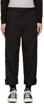 Junya Watanabe Black Twill Trousers