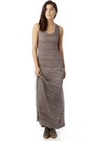 Alternative Eco-Racer Eco-Jersey Space-Dye Maxi Dress