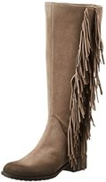 Donna Più Women's Olivia Knee-Length Indian Style Boots Brown Size: