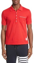 Thom Browne Men's Pocket Polo