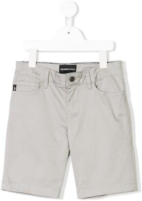 Emporio Armani Kids classic denim shorts