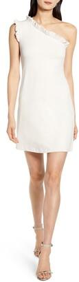 Susana Monaco One-Shoulder Sheath Dress