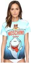 Moschino Shark T-Shirt Cover-Up Women's Swimwear