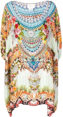 Camilla Mini Kaftan Dress