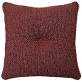 Veratex Corsica Button-Tufted Chenille Square Pillow