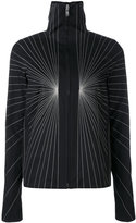 Rick Owens embroidered jacket - women - Cotton/Acrylic/Cupro/Wool - 40