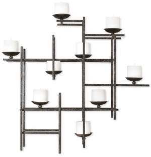 Uttermost Marni 9-Candle Iron Wall Sconce