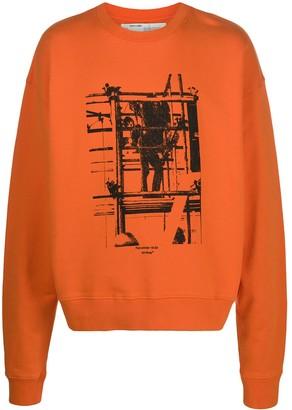 Off-White Industrial print sweatshirt