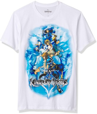 Disney Men's Mickey Mouse Donald Duck Kingdom Hearts Game T-Shirt