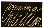 Lulu Guinness Women's Olivia 'One In A Million' Clutch Black/Gold