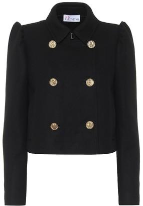 RED Valentino Wool-blend cropped blazer