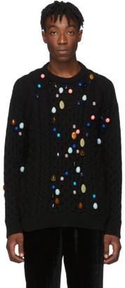 Loewe Black Stone Cable Sweater