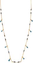 Madewell Beaded Tassel Chain Necklace