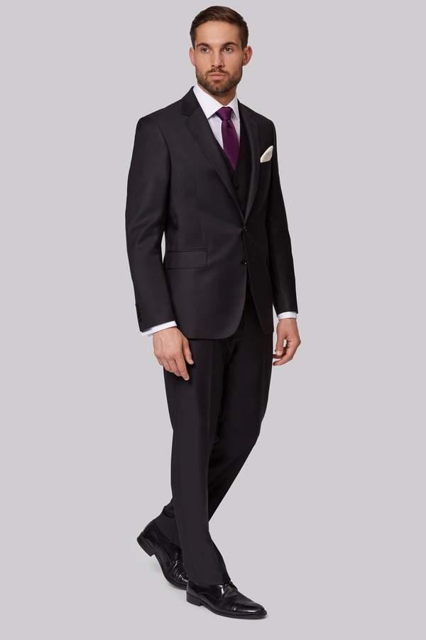 Ermenegildo Zegna Cloth Regular Fit Black Jacket