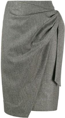 Isabel Marant Draped Wrap Skirt