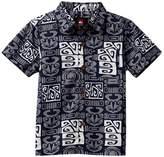Quiksilver Ohu Woven Short Sleeve Shirt (Toddler Boys)