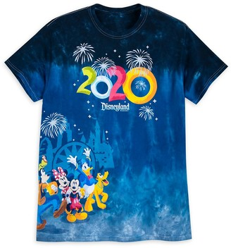 Disney Mickey Mouse and Friends Dip Dye T-Shirt for Adults Disneyland 2020