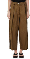 Dries Van Noten Women's Phoebe Cotton-Linen Crop Pants