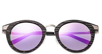 Earth Wood Zale Sunglasses W/Polarized Lenses -