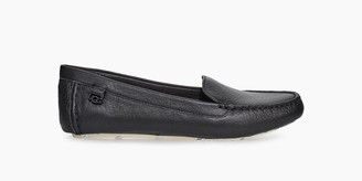 UGG Flores Leather Flat