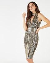 Star by Julien Macdonald Julien Macdonald Sequin Choker Dress
