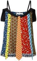 Mary Katrantzou Animal Ties camisole top - women - Silk/Polyester/Spandex/Elastane/Viscose - 10