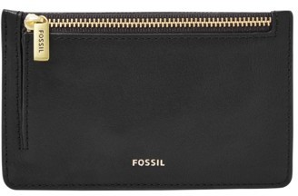 Fossil Logan Card Case Wallet Black