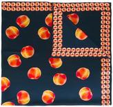 Paul Smith 'fruit' print scarf