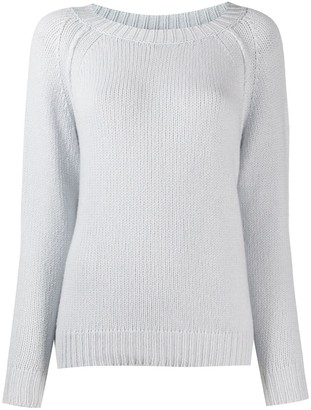 Incentive! Cashmere Ribbed Detail Jumper
