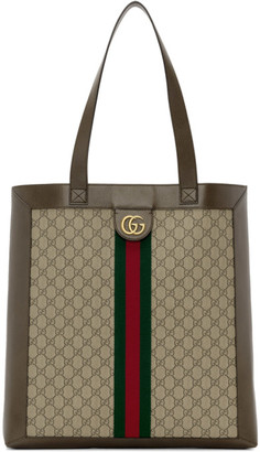 Gucci Brown GG Ophidia Tote
