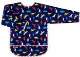 Kushies Taffeta Waterproof Bibs with Sleeves, Dinos, 4-6 Years by