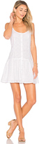 Clayton Vine Eyelet Maddie Dress in White. - size L (also in M,S,XS)