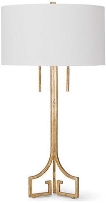 REGINA ANDREW Le Chic Table Lamp, Antique Gold Leaf