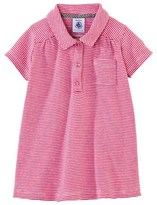 Petit Bateau Baby girl milleraies polo dress