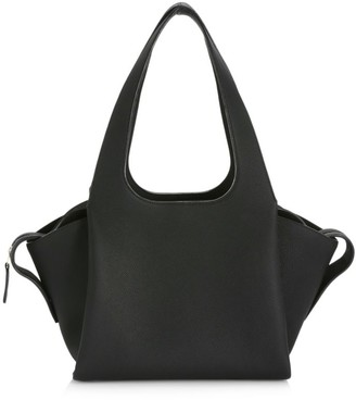 The Row TR1 Leather Shoulder Bag