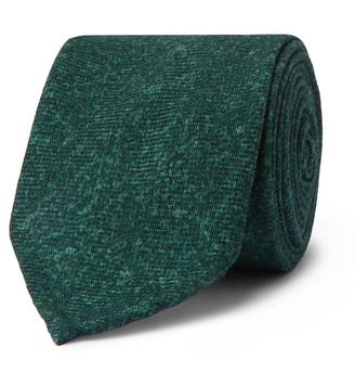 Melange Home Rubinacci 8cm Wool-Flannel Tie