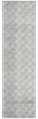 """Lauren Ralph Lauren Eleanora Handwoven Wool Black/Cream Area Rug Rug Size: Runner 2'3"""" x 8'"""