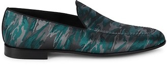 Magnanni Celeste Camo-Print Loafers