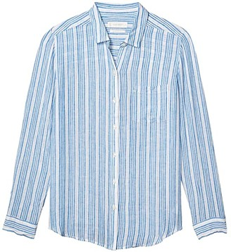 Lucky Brand Classic Shirt (Blue Multi) Women's Clothing