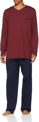 Seidensticker Men's Anzug Lang Zweiteiliger Schlafanzug-162687 Pyjama Sets