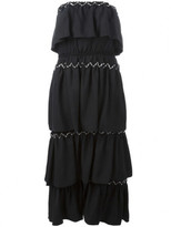 Sonia Rykiel strapless layered dress