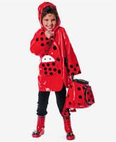 Kidorable Ladybug Raincoat, Toddler Girls (2T-5T)