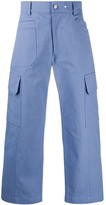 Jacquemus Cropped Pocket Detail Trousers