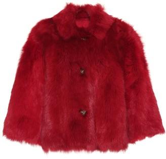 RED Valentino Reversible shearling jacket