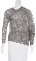 Yigal Azrouel Asymmetrical Wool Sweater