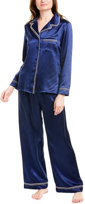 Cosabella Artisan Silk Pajama Set