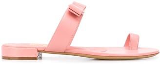 Salvatore Ferragamo Vara Bow thong style sandals