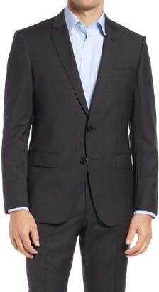 HUGO BOSS Huge Slim Fit Virgin Wool Sport Coat
