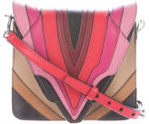 Elena Ghisellini Layered Leather Crossbody