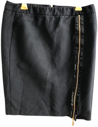 Versus Black Cotton Skirt for Women